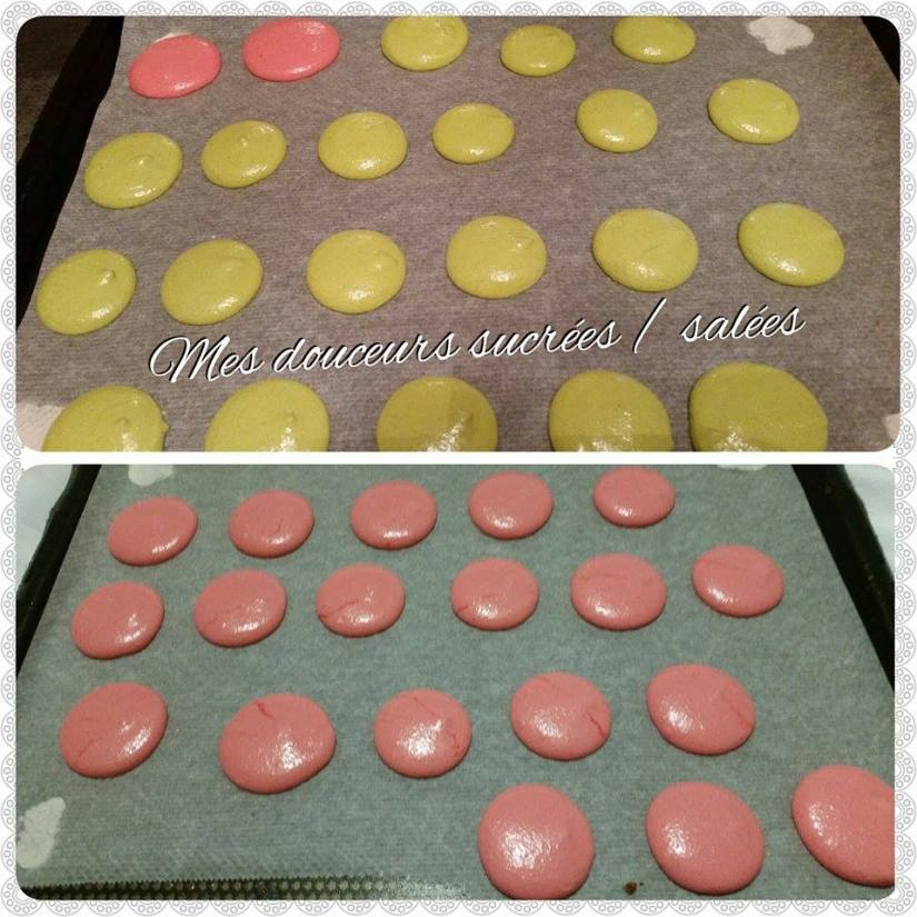 macarons-cuisson