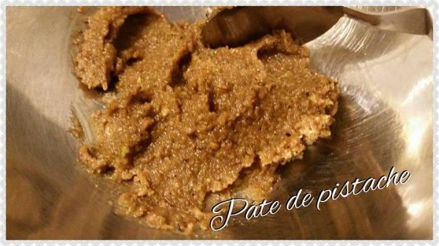 pate de pistache