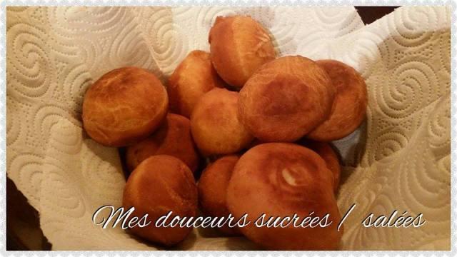 beignet au sucre cuisson