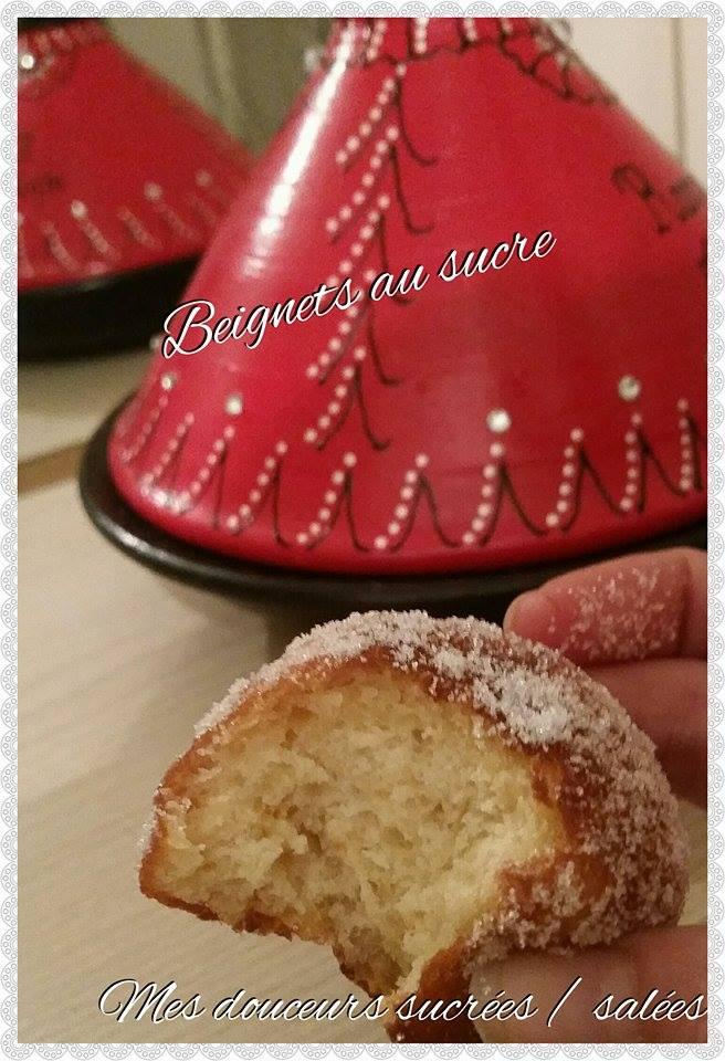 beignets au sucre interieur