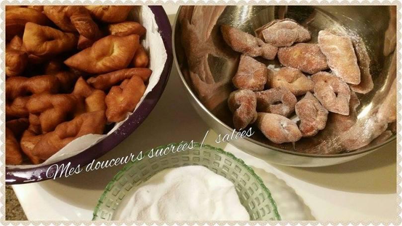 bugnes sucre