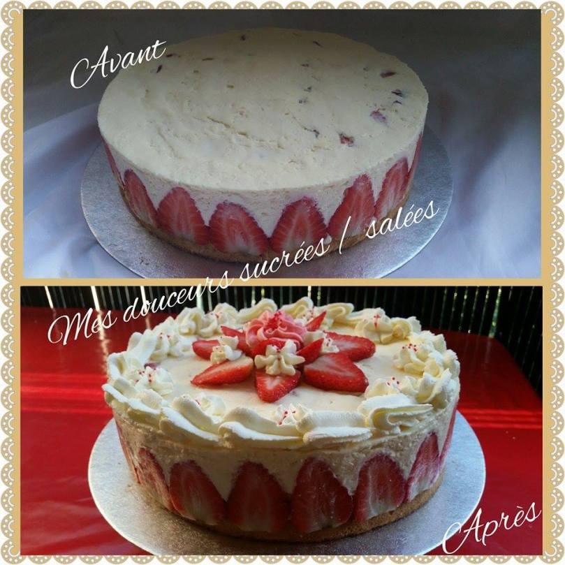 fraisier avant apres