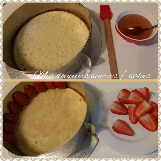 fraisier le montage