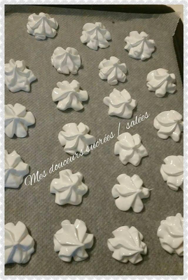 meringue dressee