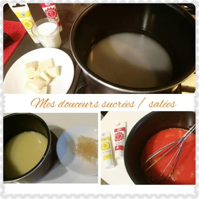 choco caramel glacage