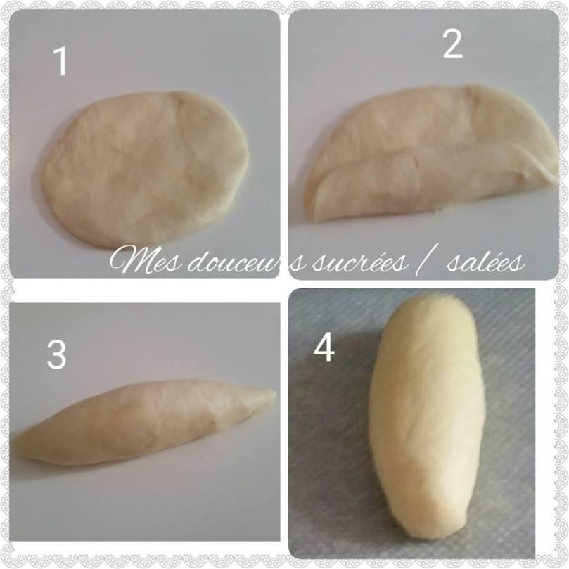 faconnage pain au lait