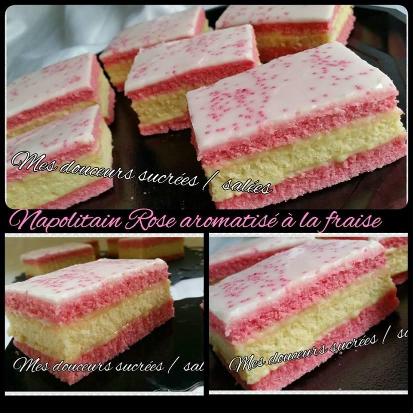 Napolitain fraise