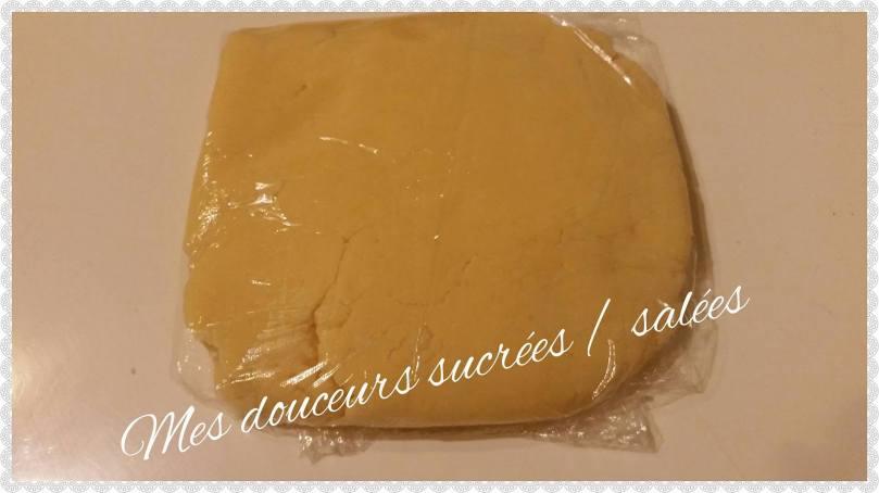 palet pâte sablé