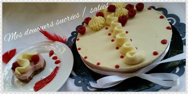 cheesecake a la framboise