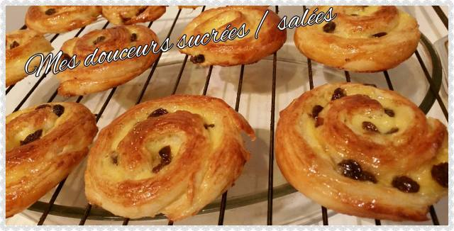 pain au raisin refroidi