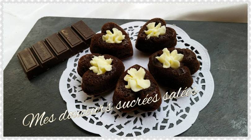 coeur chocolat chantilly