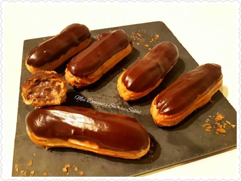 eclairs-nutella