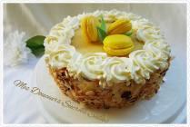layer cake lemon curd