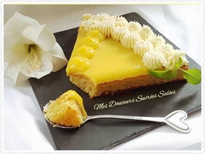 tarte amande et citron