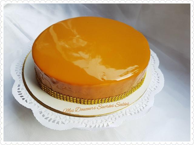 glacage miroir caramel